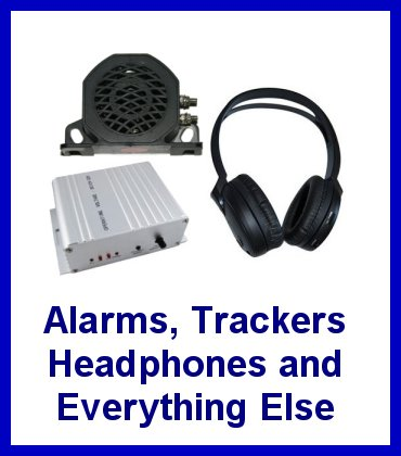 Alarms, Trackers, Headphones and everything else